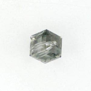 5601 - 4mm Swarovski Cube Crystal - Black Diamond