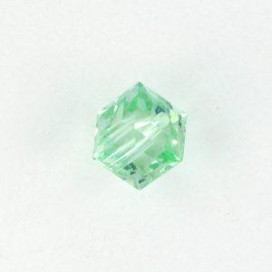 5601 - 4mm Swarovski Cube Crystal - Chrysolite