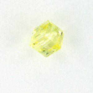 5601 - 4mm Swarovski Cube Crystal - Jonquil