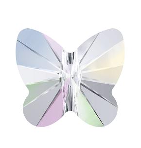 5754 - 10mm Swarovski Butterfly Bead - Crystal AB