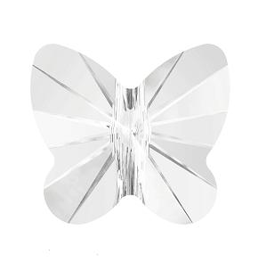 5754 - 6mm Swarovski Butterfly Bead - Crystal