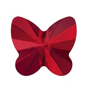 5754 - 6mm Swarovski Butterfly Bead - Light Siam