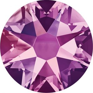 #2012 - SS20 (4.7mm) Swarovski Flat Backs - Amethyst AB