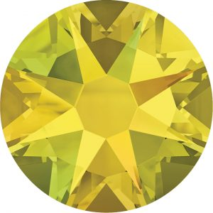 #2028 - SS16 (4.00mm) Swarovski Flat Backs - Citrine AB