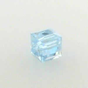 5601 - 4mm Swarovski Cube Crystal - Alexandrite AB