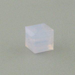 5601 - 8mm Swarovski Cube Crystal - Violet Opal