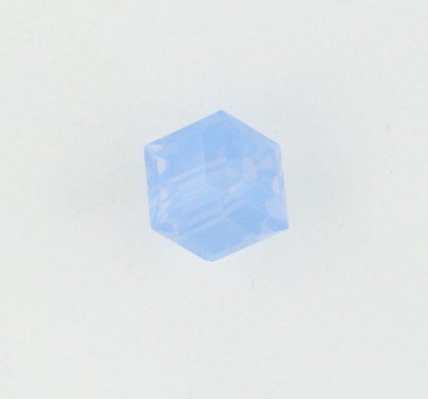 5601 - 6mm Swarovski Cube Crystal - Air Blue Opal