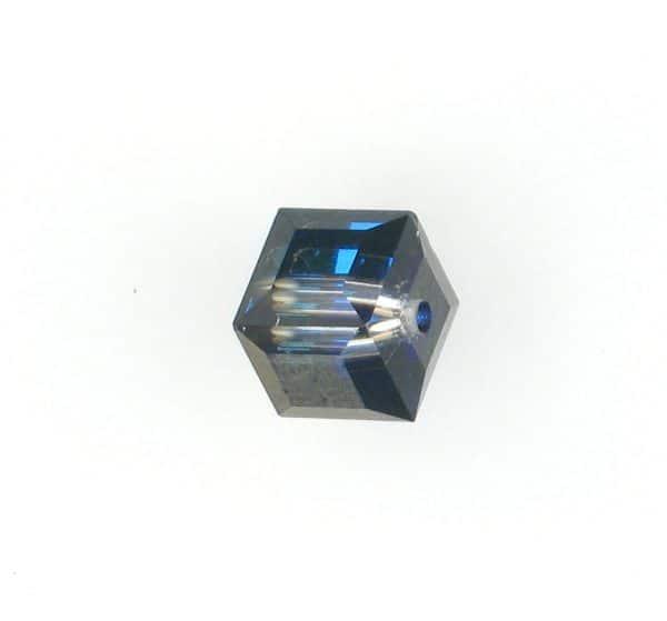 5601 - 8mm Swarovski Cube Crystal - Bermuda Blue