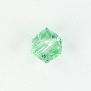 5601 - 8mm Swarovski Cube Crystal - Chrysolite
