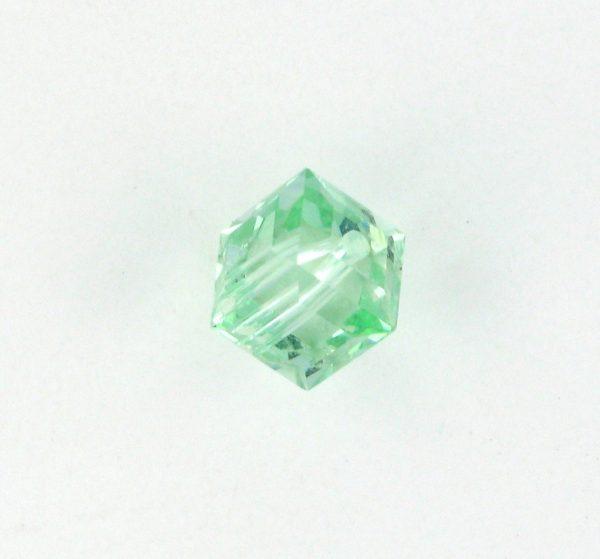 5601 - 6mm Swarovski Cube Crystal - Chrysolite