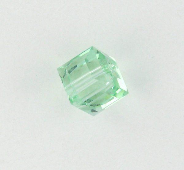 5601 - 8mm Swarovski Cube Crystal - Cantaloupe