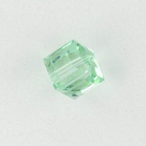 5601 - 6mm Swarovski Cube Crystal - Cantaloupe