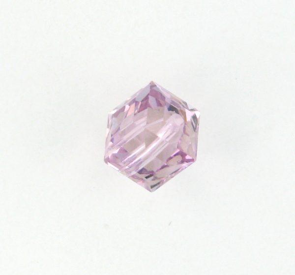 5601 - 6mm Swarovski Cube Crystal - Light Amethyst