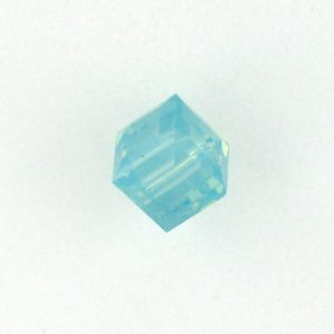 5601 - 6mm Swarovski Cube Crystal - Pacific Opal