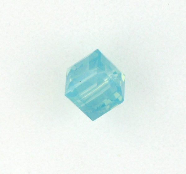 5601 - 8mm Swarovski Cube Crystal - Pacific Opal