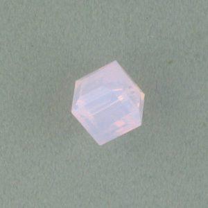5601 - 8mm Swarovski Cube Crystal - Rose Water Opal