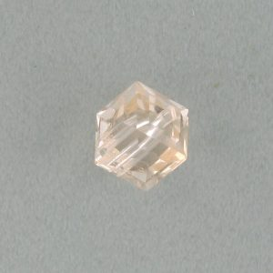 5601 - 6mm Swarovski Cube Crystal - Silk