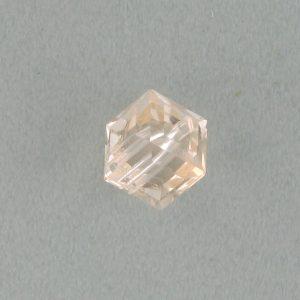 5601 - 4mm Swarovski Cube Crystal - Silk