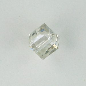5601 - 6mm Swarovski Cube Crystal - Silver Shade