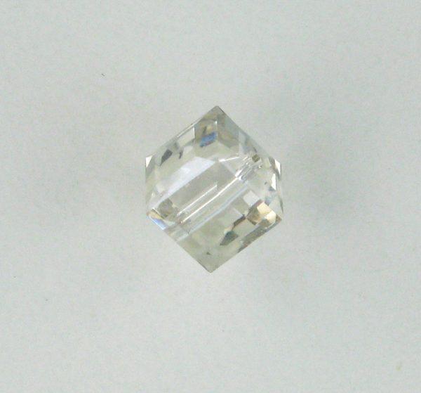 5601 - 6mm Swarovski Cube Crystal - Silver Shade