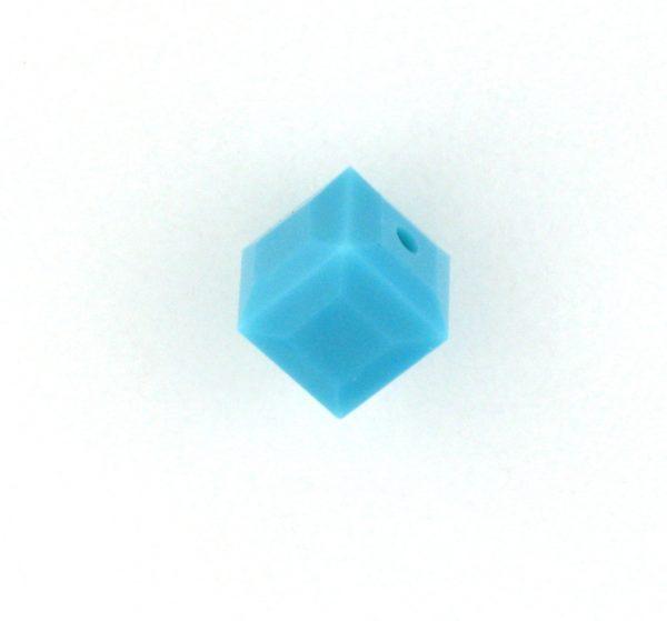 5601 - 6mm Swarovski Cube Crystal - Turquoise