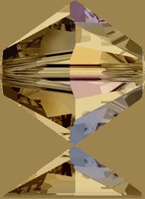5301/5328 - 8mm Swarovski Bicone Crystal Bead - Light Col. Topaz AB