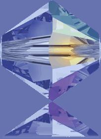5301/5328 - 8mm Swarovski Bicone Crystal Bead - Light Sapphire AB