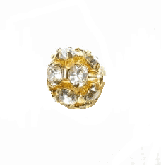 8mm Rhinestone Balls