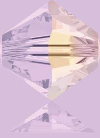 5301/5328 - 8mm Swarovski Bicone Crystal Bead - Rose Water Opal AB
