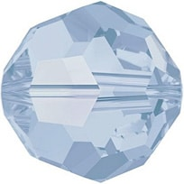 5000 - 8mm Swarovski Faceted Round Bead - Air Blue Opal