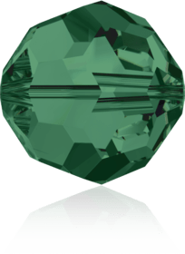 5000 - 8mm Swarovski Faceted Round Bead - Emerald