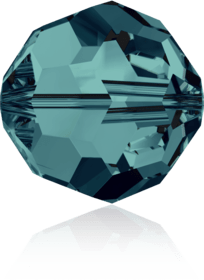5000 - 8mm Swarovski Faceted Round Bead - Indicolite