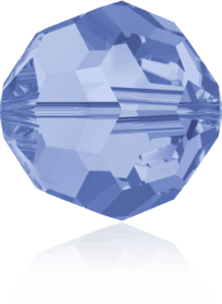 5000 - 8mm Swarovski Faceted Round Bead - Light Sapphire