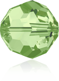 5000 - 8mm Swarovski Faceted Round Bead - Peridot