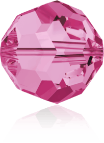 5000 - 8mm Swarovski Faceted Round Bead - Rose