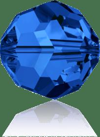 5000 - 8mm Swarovski Faceted Round Bead - Sapphire