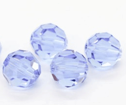 5000 - 8mm Swarovski Faceted Round Bead - Alexandrite