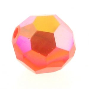 5000 - 8mm Swarovski Faceted Round Bead - Hyacinth AB