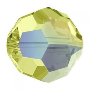 5000 - 8mm Swarovski Faceted Round Bead - Jonquil AB