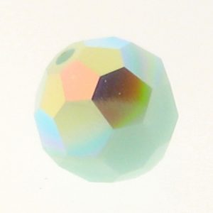5000 - 8mm Swarovski Faceted Round Bead - Mint Alabaster AB