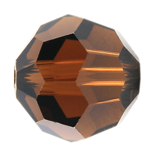 5000 - 8mm Swarovski Faceted Round Bead - Mocca