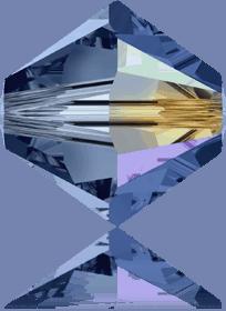 5301/5328 - 7mm Swarovski Bicone Crystal Bead - Montana AB