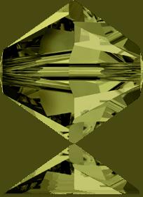 5301/5328 - 7mm Swarovski Bicone Crystal Bead - Olivine