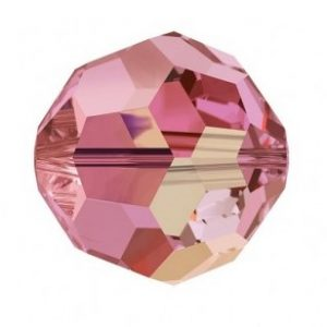 5000 - 8mm Swarovski Faceted Round Bead - Padpardscha AB