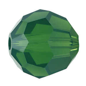 5000 - 8mm Swarovski Faceted Round Bead - Palace Green Opal