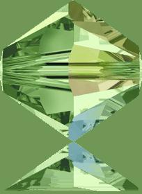 5301/5328 - 7mm Swarovski Bicone Crystal Bead - Peridot AB