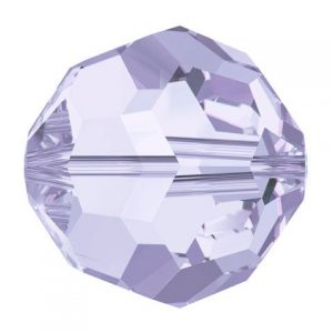 5000 - 8mm Swarovski Faceted Round Bead - Provence Lavender