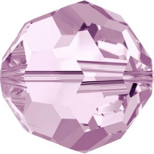 5000 - 8mm Swarovski Faceted Round Bead - Rosaline