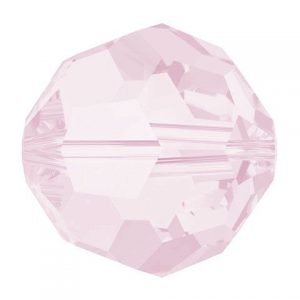 5000 - 8mm Swarovski Faceted Round Bead - Rose Water Opal