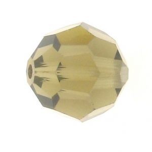 5000 - 8mm Swarovski Faceted Round Bead - Smoky Quartz